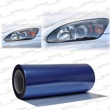 "Xenon Blue Headlight Taillight Fog Light Tint Vinyl Film Wrap 24"" x 12"" - BMW"