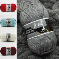 DIY Soft Wool Yarn Hand Knitting Sweater Hat Scarf Thread Cashmere Yarn Crochet