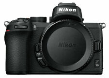 Nikon Z 50 20.9MP Mirrorless Interchangeable Lens Camera - Black (Body Only)