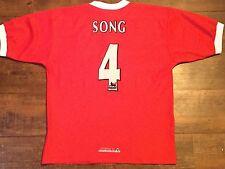1998 2000 Liverpool Song No 4 Football Shirt Adults Medium Jersey