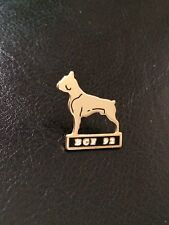 Pin's chien Boxer - Boxer Club France 1992