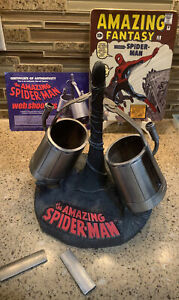 Spider-Man Web Shooters Replica Display Diamond Select Marvel Limited Ed W/COA