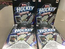 4x 1990-91 Upper Deck Hockey - LOW SERIES - Factory Sealed Boxes