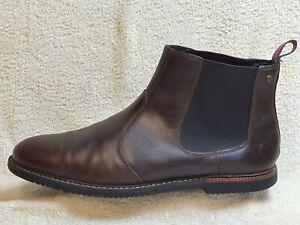Timberland mens Comfort Chelsea Boots Leather dark Brown UK 12.5 EUR 47.5 US 13