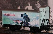 Märklin 48313 9.Modellbahn Treff 2013, farb. Landschaft mit Eisenbahn, Blechdose