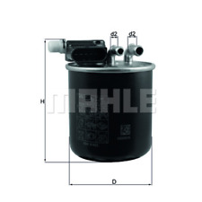 Fuel Filter - Mahle Kl 948