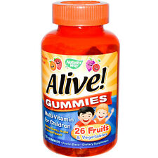 Alive Multi-Vitamin 90Gummies w Apricot!  Perfect for your Janie and Jack lovely