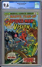 Marvel Team-Up #42 CGC 9.6 NM+ Wp 1976 Spider-Man & Vision HOT TV WandaVision