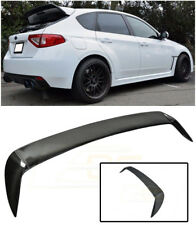 For 08-14 Subaru WRX & STi Rear CARBON FIBER Wing Spoiler Extension Gurney Flap