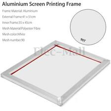 A3 Screen Printing Aluminium Frame Stretched With White 90T Silk Print Mesh