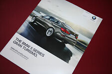 BMW 5 Series Gran Turismo Brochure 2014 - MINT