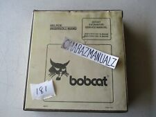 Bobcat 337 341 Excavator Service Manual