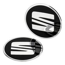 1 SEAT Nabendeckel Felgen Aufkleber 60 mm Alufelgen Emblem Logo Felgenaufkleber