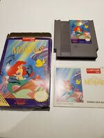Disney's The Little Mermaid (Nintendo Entertainment System, 1991) CIB Complete
