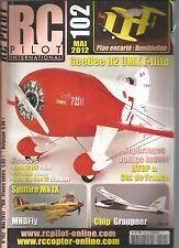 RC PILOT N°102 PLAN : BUMBLEBEE / GEEBEE R2 UMX F-FLITE / SPITFIRE Mk IX / CHIP