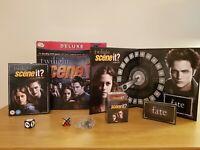 Scene It? The Twilight Saga Deluxe Edition DVD Family Board game 100% Complete
