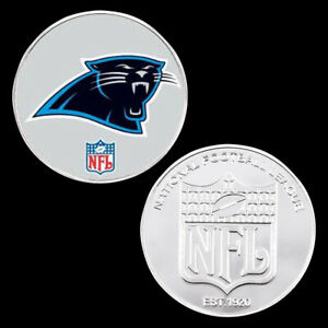 Christmas Souvenir Gift Nfl Coin Us Football Team Logos Carolina Panthers Coins
