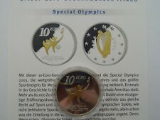 Irland - 10 Euro - 2003 - Silber - Special Olympics
