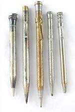 5 Antique Pal Wahl Eversharp Mechanical Pencils Telephone Dialers ~ S47n