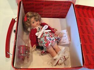 """NIB 2001 Madame Alexander School Days Coca-Cola Doll 8"""" Lunch Box"""