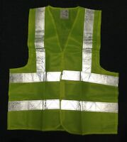 New Reflective Safety Vest Neon Yellow High Visibility Construction Traffic Work