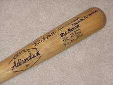 Phil Niekro Game Used Signed Bat Atlanta Braves HOF