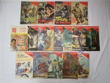18 x Erzählerreihe 1961 / 81 Militärverlag Berlin DDR Roman Heft