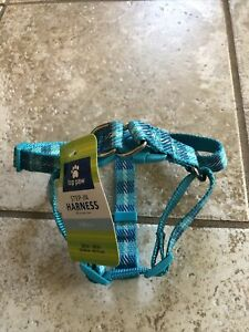 Top Paw Step In Adjustable Dog Harness, Plaid Size: SM