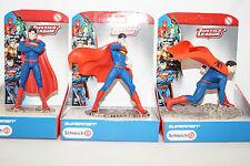 Schleich SUPERMAN 22504,22505,22506 DC Superhelden 3Stück stehend kniend neu OVP