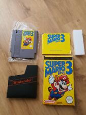 NES - Nintendo Super Mario Bros. 3, OVP, CIB, Sammlerstück