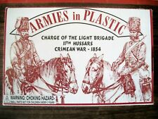 ARMIES IN PLASTIC BOXED 54MM NAPOLEONIC / CRIMEAN BRITISH HUSSARS  Lot 5