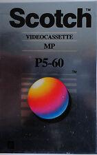 SCOTCH Tape 8mm p5-60 MP VHS camcorder video cassetta NUOVO & UVP
