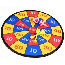 Fabric Dart Board Set Kid Ball Target Game Throwing Sport Hobby XMAS Gift