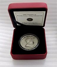 2008 Canada $15 Dollars Coin Edward VII Vignettes Ultra High Relief Cameo