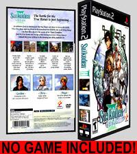 Suikoden III 3  - PS2 Reproduction Art DVD Case No Game