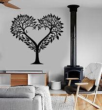 Vinyl Wall Decal Tree Heart Love Romantic Room Decor Stickers (ig4063)