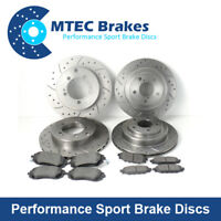 Audi Q7 3.0 4.2 6.0 Tdi Quatt 07/06-08/16 Front Rear Brake Discs Pads 330mm rear