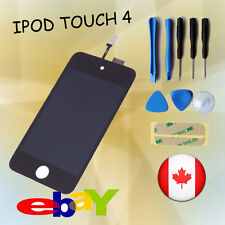 New LCD Display Screen +Digitizer Assembly + Tools for iPod Touch 4G 4th  black