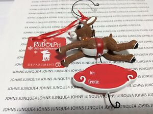 RUDOLPH THE RED-NOSED REINDEER DEPARTMENT 56 NEW ORNAMENT