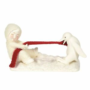 Snowbabies 6005803 Tug-of-War Figurine