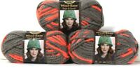 3 Lion Brand Wool-Ease Thick & Quick 512 Monarch 6 Super Bulky Washable Yarns