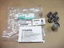 New Genuine Nissan Qashqai Set Of 4 Locking Wheel Nuts/Bolts KE40989951