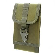 Universal Army Camo Belt Loop Hook Pouch Case Cover For Apple iPhones