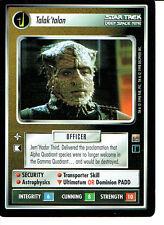 STAR TREK CCG DOMINION RARE CARD TALAK'TALAN