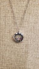 ORIGAMI OWL PENDANT NECKLACE WITH CHARMS