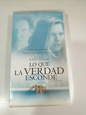 What the Truth Hide Harrison Ford Pfeiffer VHS Tape Spanish New