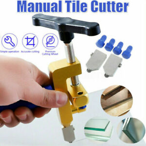 Easy Glide Glass Tile Cutter Ceramic Cut One-piece Professional Alloy Tool kits