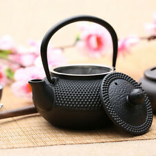 800ml Black Hobnail Tetsubin Kettle Cast Iron Tea pot Teapot with Infuser TP164