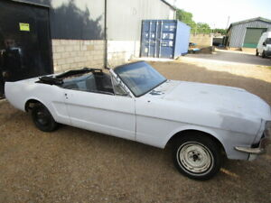 1965 Ford Mustang 289 Convertible Project for restoration