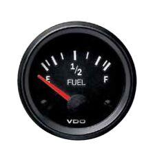 VDO fuel gauge, 12volt, 52mm 2 inch 73 - 10 ohm 301010015 for OE Holden & Ford